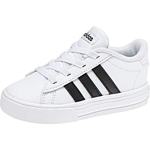adidas Unisex Baby Daily 2.0 Sneaker, Weiß (Footwear White/Core Black/Footwear White), 26 EU