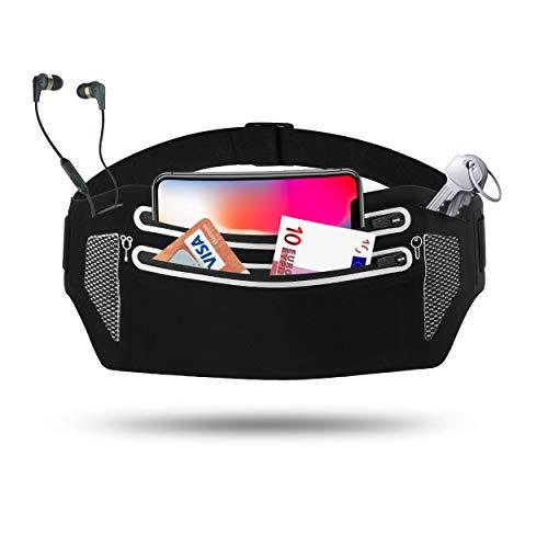 Averal trade Sport Bauchtasche, Hüfttasche für Running Damen und Herren, Lauftasche für Handy Schlüssel und Zubehör, Gürteltasche für Joggen, Fitness, Wandern