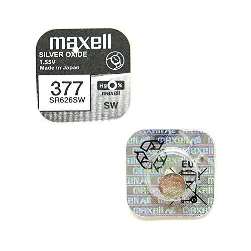 Maxell SR626SW, Pila de botón, 1.55 V, 1 unidad