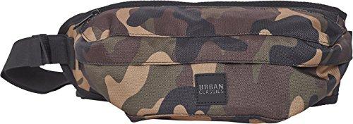 Urban Classics Shoulder Bag Umhängetasche, 43 cm, Wood Camo