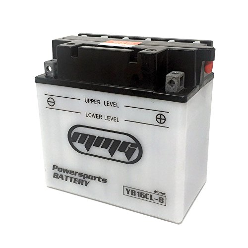 MMG YB16CL-B 16CL-B Heavy Duty 12v Powersports Battery for ATV, Compatible with Bombardier (Can Am) Kawasaki John Deere