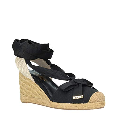 Lauren Hollie, Espadrilless fur Damen 41 Schwarz