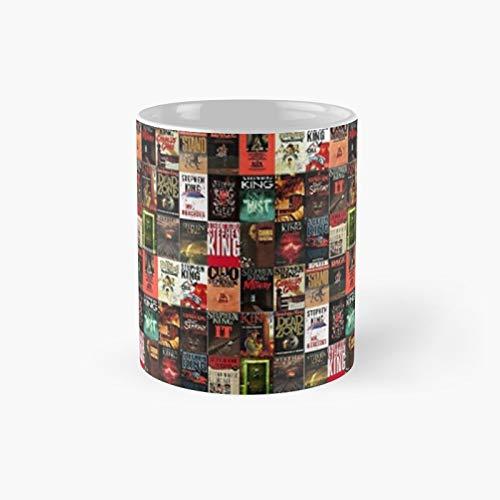 Stephen King - Taza clásica con tapa de libro (11 onzas)