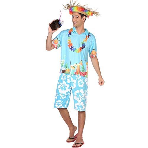 Atosa Déguisement Homme Hawaï