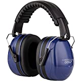 Ear Defenders Adult - Foldable Hearing Protection Ear Muffs Noise Cancelling - Perfect for DIYm Working,...