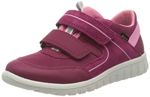 Superfit Baby Mädchen SPORT7 Mini Sneaker, Rot (Rot/Rosa 50), 27 EU