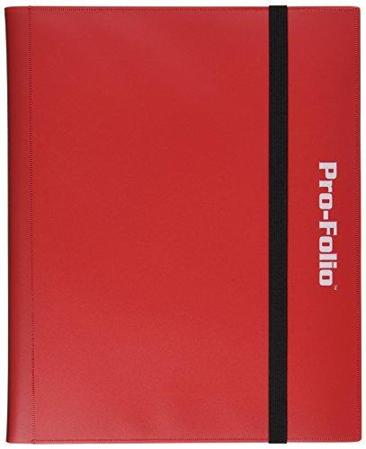 Pro-Folio - Álbum de 9 bolsillos, color rojo