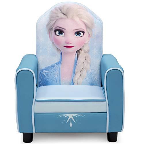 Delta Children Figural Upholstered Kids Chair, Disney Frozen II Elsa