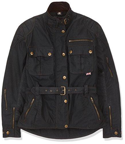 Bores Tropical Pro 1 Classic Wachsjacke Damen Textiljacke, Schwarz, Größe L