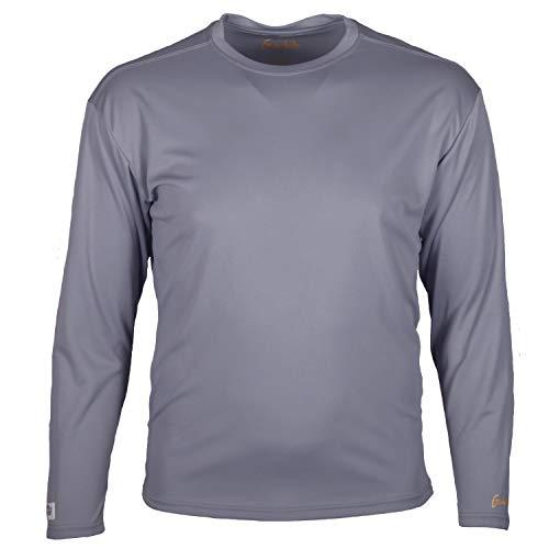 Gamehide ElimiTick Long Sleeve Tech Shirt (Slate Grey, MD)