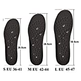 EEUK Acupressure Magnetic Massage Insoles with Arch Support, Foot Reflexology Therapy Insole for Women and Men, Acupressure Slimming Insoles for Weight Loss - Improve Blood Circulation