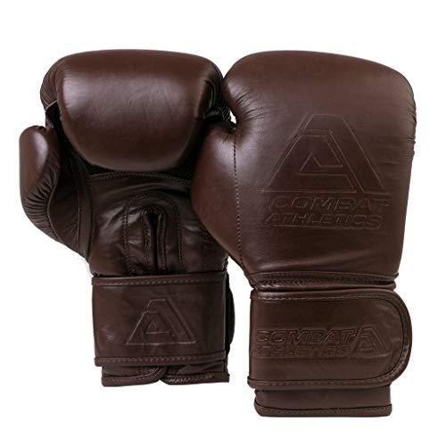Tatami Fightwear Combat Athletics Vintage Boxing Gloves-16oz Guantoni da Boxe MMA Arti Marziali Kickboxing Muay Thai Combattimento