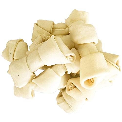 Pet Magasin - Ossi Cane Naturali - Snack per Cani da Masticare - Alto Contenuto Proteico e Pochi Grassi - Ossa Dental Stick - 10 Pezzi (Grande)