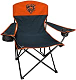Rawlings NFL XL Lineman Tailgate and Camping Folding Chair, Chicago Bears