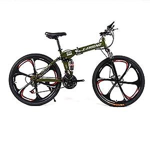 STOWABIKE - Bicicleta de montaña, 26 V2 Plegable Doble suspensión ...