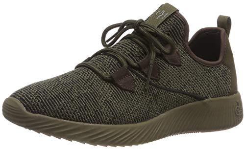 Marc O'Polo Herren Sneaker, Grün (Olive 413), 45 EU