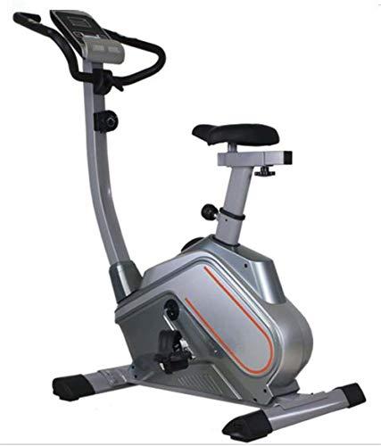 Lcyy-Bike Addestratori di Biciclette Resistenza Magnetica 2,6 kg Volano Cardio Workout con Display Multifunzione E Porta Tablet Manubrio Regolabile E Altezza Sedile