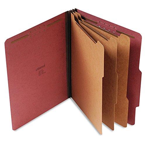 UNV10290 - Carpeta clasificadora universal de cartón prensado.