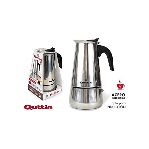 Dream Hogar Cafetera induccion 9 Tazas 500ml Acero INOX