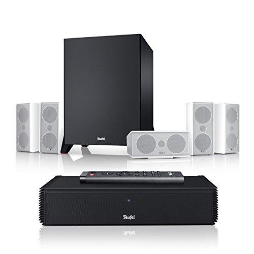 Teufel Consono 35 Complete Power Edition Weiß Heimkino Lautsprecher 5.1 Soundanlage Kino Raumklang Surround Subwoofer Movie High-End HiFi Speaker