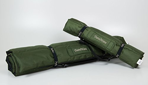 TrendPet TravelWave - Outdoor und Reisematte grün/schwarz 125x100cm