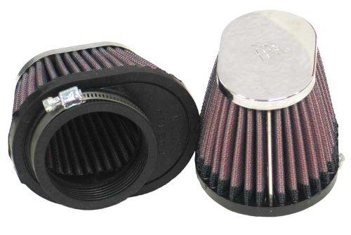 K&N RC-0982 KFZ und Motorrad Universal Chrom Filter