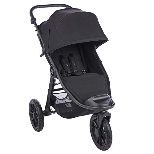 Baby Jogger City Elite 2 All-Terrain Pushchair | Foldable, Portable Stroller | Jet (Black)