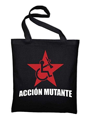 Styletex23 Accion Mutante jute zak katoenen tas