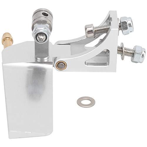 Timón de Agua de Succión Accesorios de Timón Agua Succión Barco de Aleación Aluminio para Mini Barco Control Remoto Eléctrico
