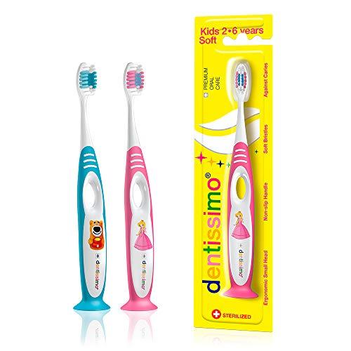 cepillo de dientes dentissimo Kids 2–6(Azul Claro)