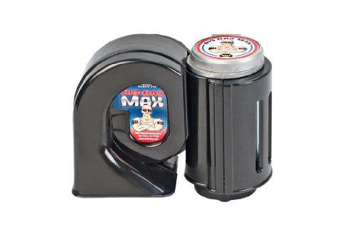 Wolo (619) Big Bad Max Air Horn - 12 Volt, Black