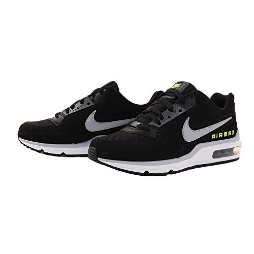 Nike Herren AIR MAX LTD 3 Traillaufschuhe, Mehrfarbig (Black/Wolf Grey-Volt-Dark Grey 001), 44 EU