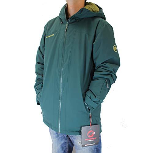 MAMMUT マムート スキーウェアー ジャケット ANDALO HS THERMO HOODED Jacket 1010-25021 / DARK TEAL CLOVER 40035 マムート ウェア スノーボード,mammut スキーウェア【C1】 M/JPN-L