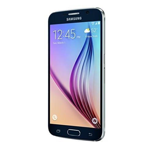 Samsung Galaxy S6 G920V 64GB Android Smartphone - Black Sapphire - Verizon (Renewed)