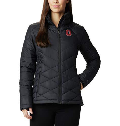 NCAA Ohio State Buckeyes Women's Collegiate Heavenly Jacket, Large, OS - Black