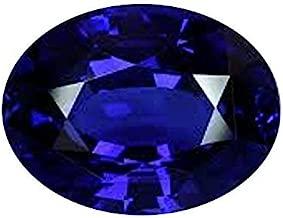 Getgemstones Blue Sapphire Stone Natural Certified Loose Gemstone 4.3 Carat