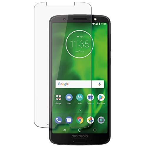 disGuard Schutzfolie für Motorola Moto G6 Plus [2 Stück] Kristall-Klar, Displayschutzfolie, Glasfolie, Panzerglas-Folie, Displayschutz, extrem Kratzfest, Schutz vor Kratzer, transparent