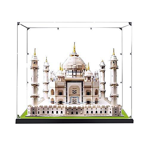 LODIY 2mm Acrilico Vetrina per Lego Taj Mahal 10256, Espositore Antipolvere Vetrina per Lego 10256 (Solo Vetrina, Lego modello non incluso)