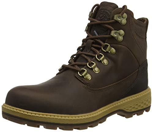Jack Wolfskin Damen Jack MID W Combat Boots, Braun (Dark Wood/Mocca 5692), 37 EU