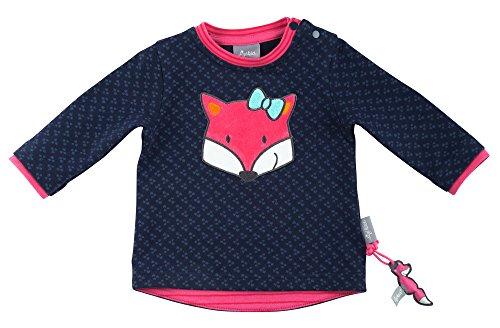 Sigikid Sweatshirt, Baby Sweat-Shirt, Bleu (Peacoat 260), 62 cm Bébé Fille