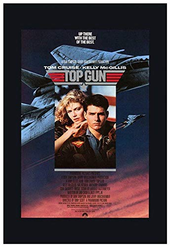 Sparking Tees Original Top #Gun (1986) Movie Poster ReprintGifts for Fan Lovers Posters No Framed
