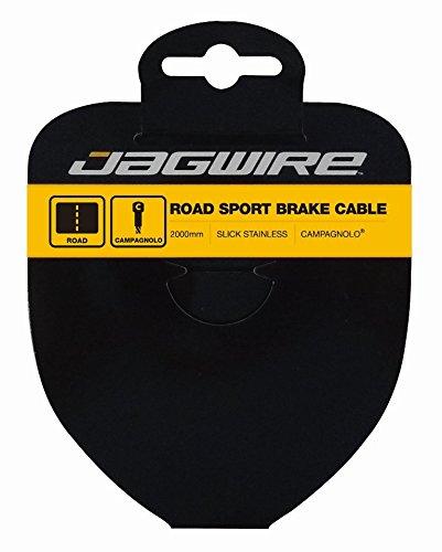 Jagwire Bremszug, Sport, Slick, Edelstahl, 1,5 x 2000 mm, Campagnolo 93SS2000, Unisex, Erwachsene, Grau