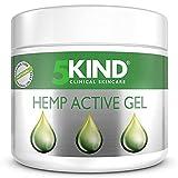 Chanvre Active Gel - Formule d'huile de chanvre haute résistance riche en extraits naturels par 5Kind. Chanvre Gel peut aider les pieds, le dos et les épaules. Testé dermatologiquement. (300ml)