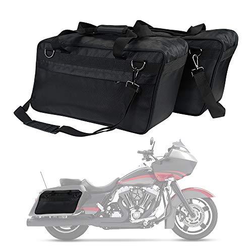Motorcycle Saddlebag Liners, Hard Saddle Bag Inserts for Street Glide Electra Glide Road King Vulcan Royal Star Travel Luggage Bag