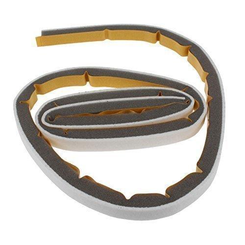 Avant Roulement de tambour Feutre Seal Compatible avec Beko Drcs68s, Drcs68 W, Drcs76b, Drcs76s, Drcs76 W, Drvs62, Drvs62s, Drvs62 W, Drvs73s, Drvs73 W, Tdf168s sèche-linge