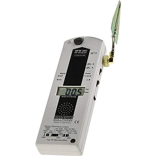 Gigahertz Solutions HFW 35C - Analizador de ondas de alta frecuencia, 2,4-6 GHz (incluidas WLAN y WIMAX)