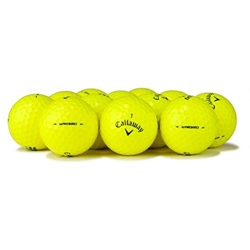 Callaway Yellow Premium Golf Balls (50 Pack), Packaging May Vary