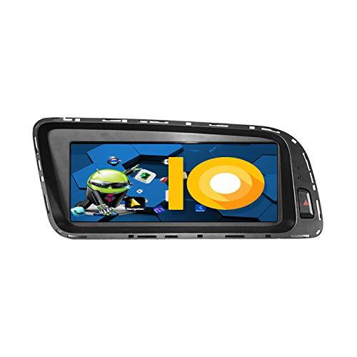 ZWNAV 8.8 pollici Andriod 9.0 Double Din Car Stereo Sat Nav Bluetooth Bluetooth Navigazione GPS per Audi Q5 2008-2017 Unità di controllo del volante Wifi USB Carplay Mirror Link (versione alta)