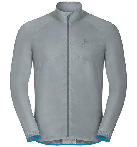 Odlo Lttl Veste Homme, Blue Jewel, FR : M (Taille Fabricant : M)