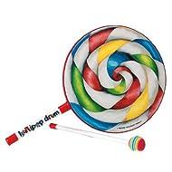 """Remo ET-7108-00 Kids Percussion Lollipop Drum, 8"""""""